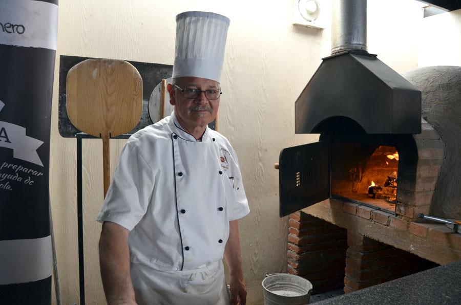Nicola Canzoneri, amante de la buena comida