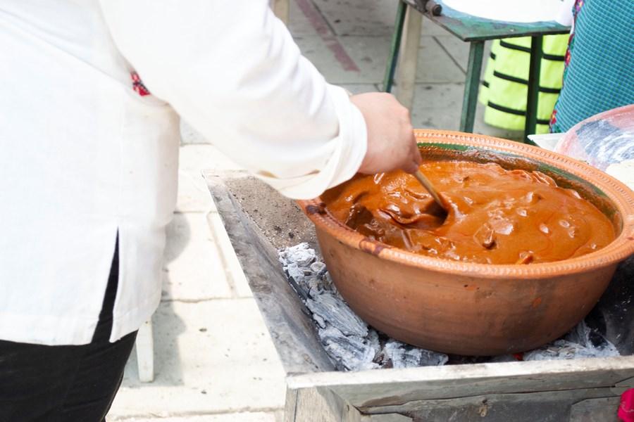 Cocina mexicana, sin precisión matemática