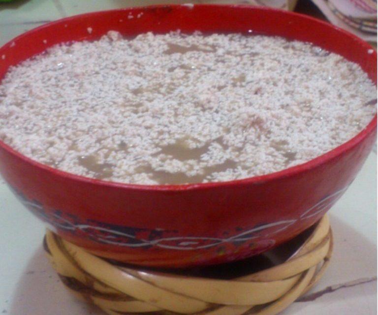 Tejate en La flor de Huayapam