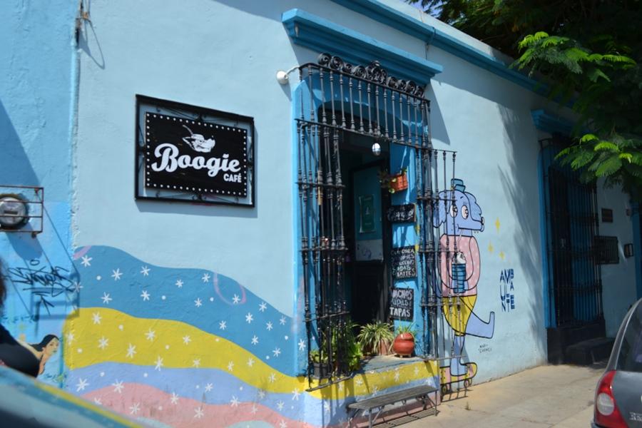 Boogie, café