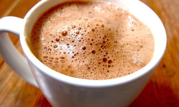 Chocolate de leche en Mayordomo