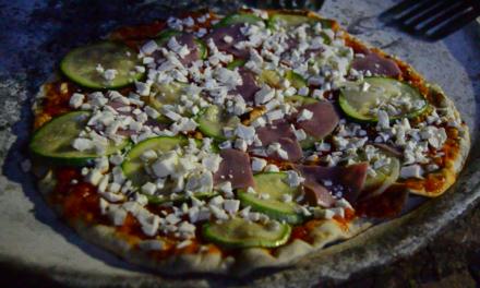 Pizza al comal en San Juan Yagila