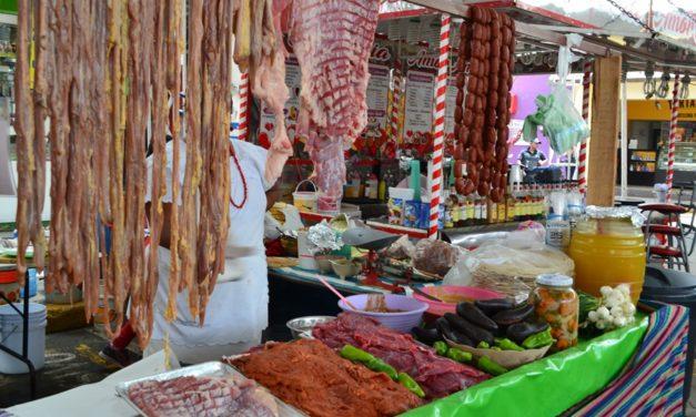 Muestra culinaria de Zaachila