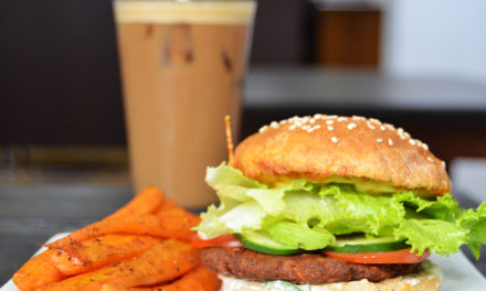 Hamburguesa Vegetariana en El Laberinto
