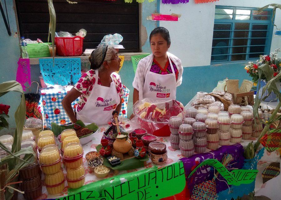 Feria del Nicuatole en Yatareni