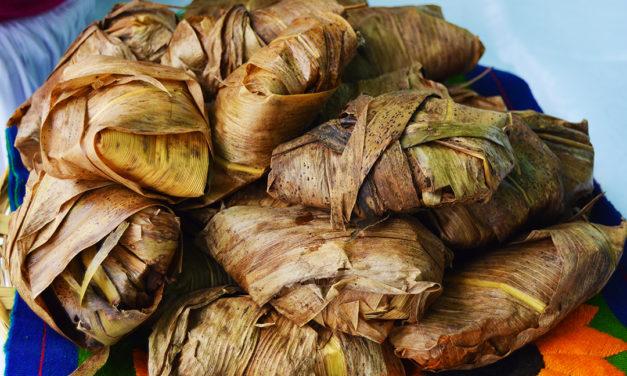 Tamales de Frijol en Oaxaca