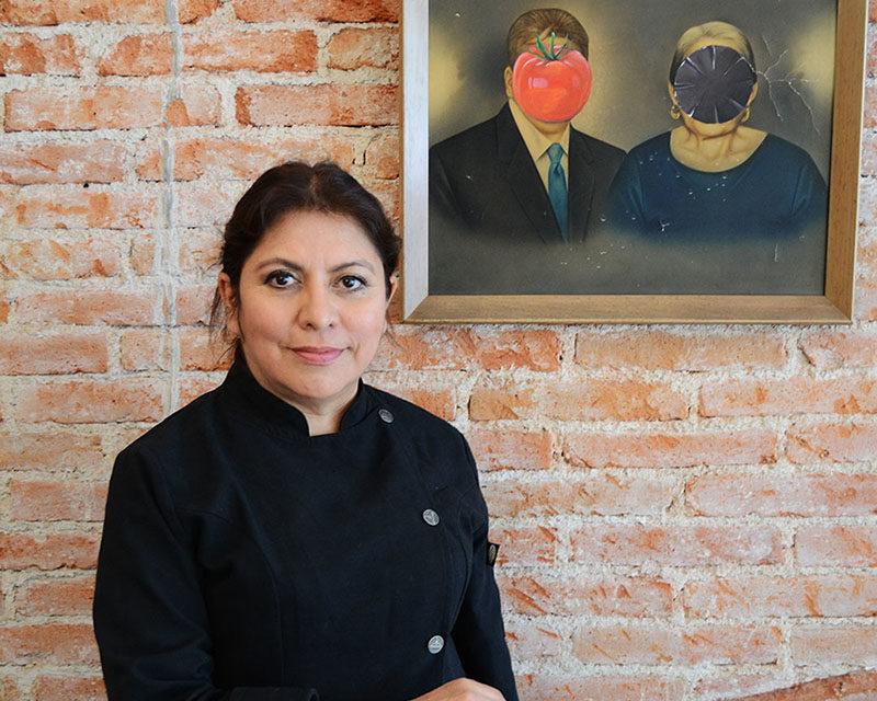 Flor Araceli Santaella, homenaje a  México a través de la comida