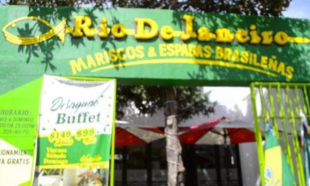 Desayuno buffet  en el restaurante Río de Janeiro