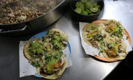 El Güero, probablemente los tacos más ricos de tripa en Oaxaca