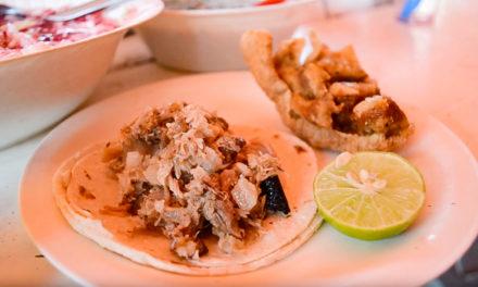 Los tacos más ricos de carnitas en Salina Cruz los prepara «El Güero»
