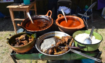 Gastronomía ancestral de Santa Ana Zegache en su Encuentro de Cocineras