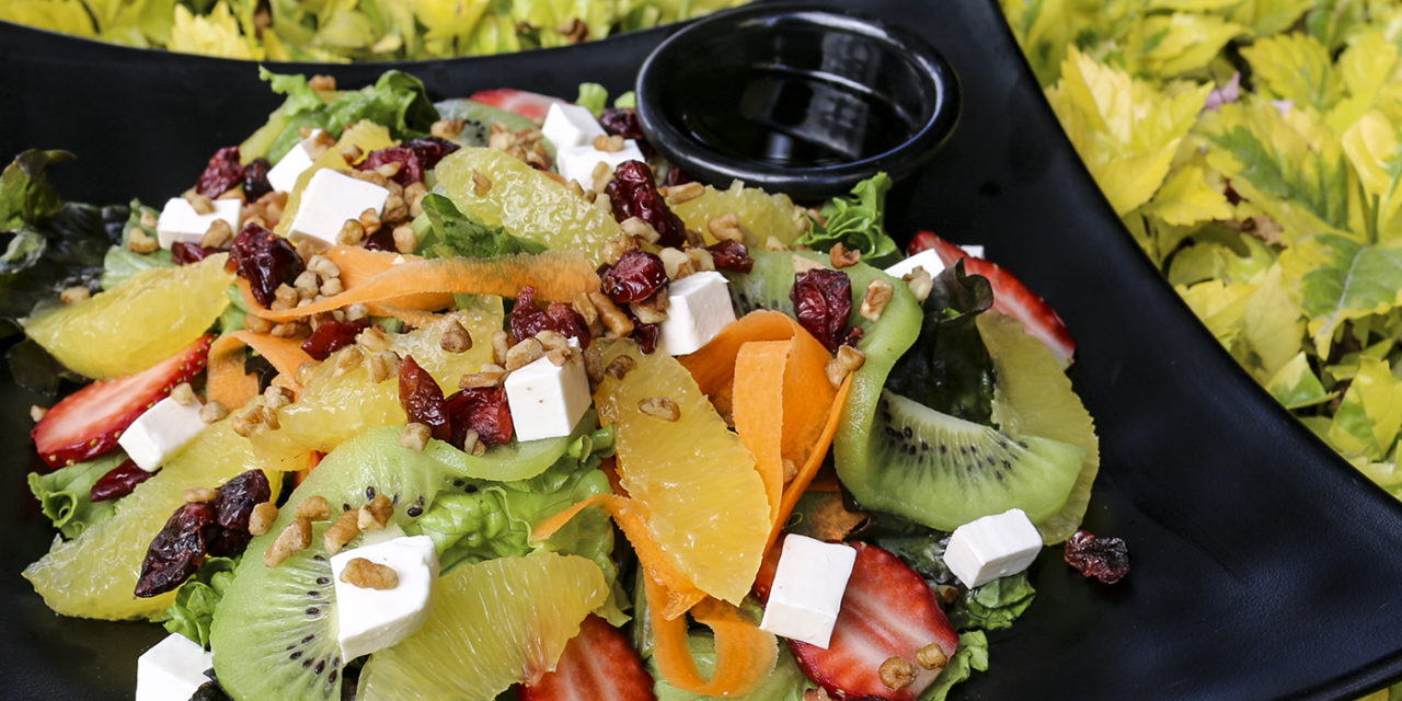 La deliciosa ensalada cítrica en Paraíso Gourmet