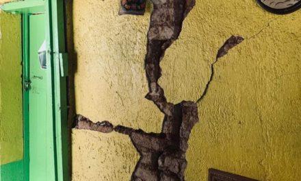 La Morenita, en San José del Pacífico, golpeado por el terremoto