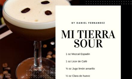 Cocktail de mezcal y café | Mi Tierra Sour