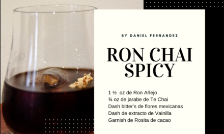 Cocktail con ron | Ron Chai Spicy
