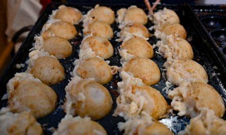 ¿Conoces el takoyaki?