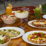 Desayuno en La Cofradía, en las faldas de Monte Albán