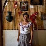 Catalina Lucas, depositaria de la cocina zapoteca